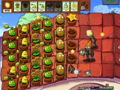 Plants vs. Zombies (2/6)